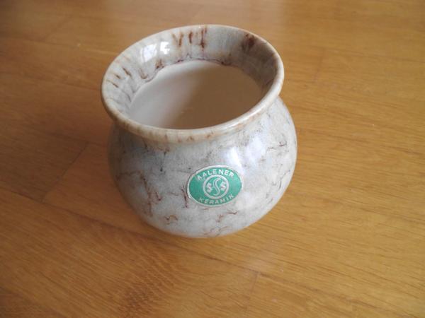 Vase marmoriert v Aalener Keramik
