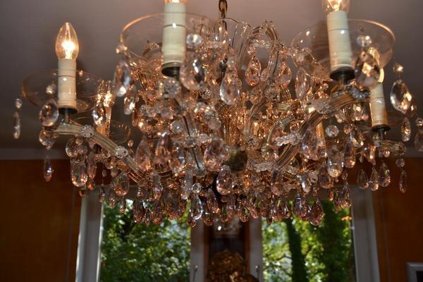 Antik Kronleuchter Lüster Kristall Lampe ~ Venezianischer antiker kronleuchter kristall lüster in münchen
