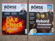 Verkaufe 2 Zeitschriften Börse Online