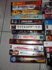 Verkaufe 28 VHS