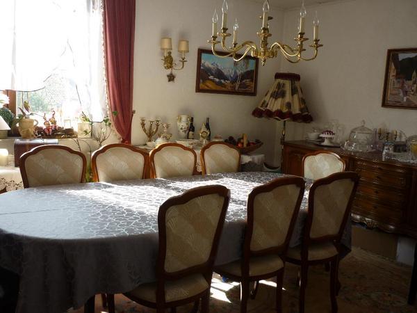Verkaufe Antikes Esszimmer 12 Teilig + 5 Lampen Mit Zertifikat In, Esszimmer