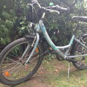 Vermont Mädchen Fahrrad