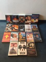 Videospielfilme auf VHS Kassetten Original