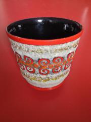 VINTAGE BLUMENTOPF Blumenübertopf Keramik mit