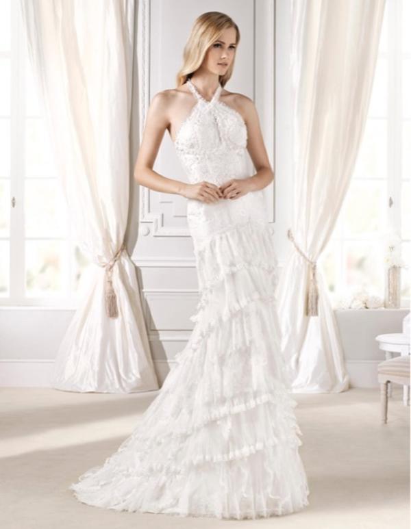 Vintage Brautkleid La Sposa Edet Spitze Gr 36 Np 1 600 In