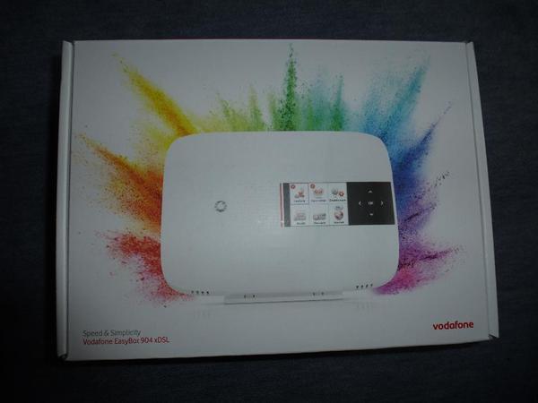 Vodafone EasyBox 904 xDSL - Kleinmachnow - Vodafone EasyBox 904 xDSL Neu! Verpackungssiegel nicht angebrochen. Abholung oder zuzüglich 5,- EUR Versandkosten. Angebote genehm! - Kleinmachnow