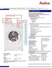 Waschmaschine Amica