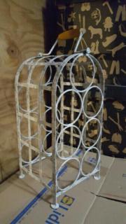 weinregal metall gebraucht kaufen nur 4 st bis 70 g nstiger. Black Bedroom Furniture Sets. Home Design Ideas