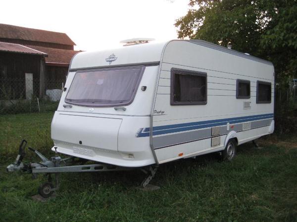 wohnwagen hobby 540 ul prestige in herxheimweyher kaufen. Black Bedroom Furniture Sets. Home Design Ideas