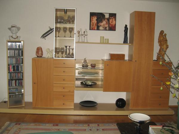 wohnwand mit viel stauraum topzustand in bregenz. Black Bedroom Furniture Sets. Home Design Ideas