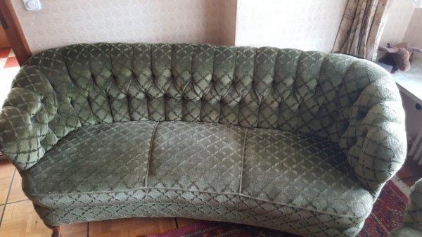 Wohnzimmer Sitz Garnitur Polster Sessel Couch
