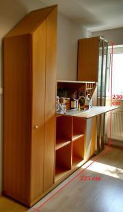 Wohnzimmerschrank mit eingebauter