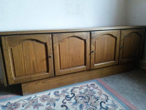Wohnzimmerschrank Und Seitboard Schrnke Sonstige Schlafzimmermbel