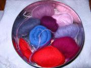 Wolle Angora Reste -