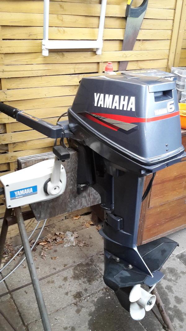 yamaha aussenborder bootsmotor 8 ps normalshaft in rastow. Black Bedroom Furniture Sets. Home Design Ideas