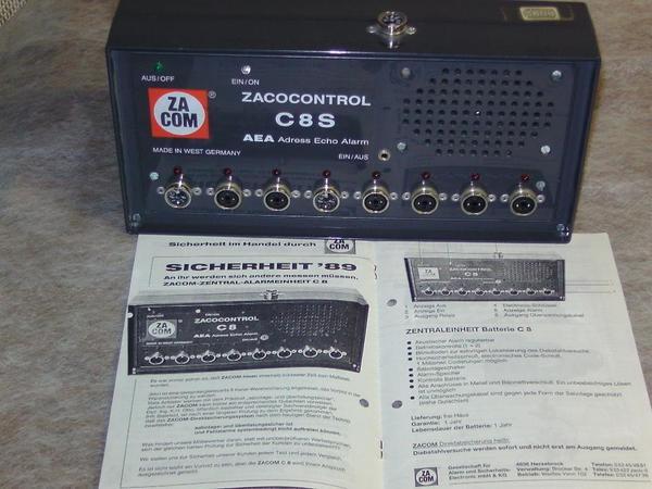 ZACOM Warensicherungssystem ZACOCONTROL C8S